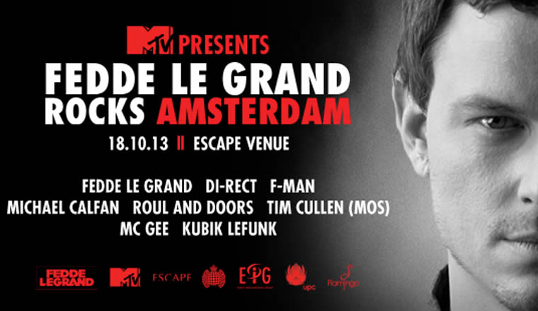 FEDDE LE GRAND ADE EPIC CONFIRMS FULL LINE-UP TO ROCK AMSTERDAM