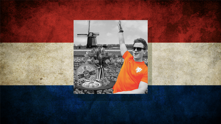 SHOW YOUR COLORS AND WIN A TEAM HOLLAND INSPIRED ICEWATCH SIGNED BY FEDDE