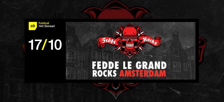 Fedde Le Grand Rocks Amsterdam