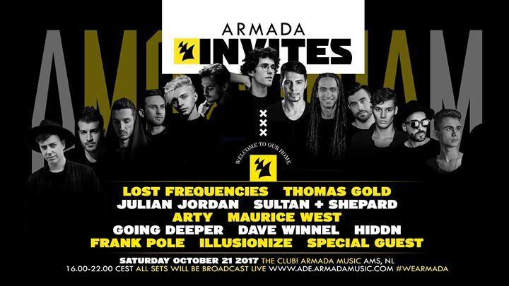 Armada Invites @ Armada HQ