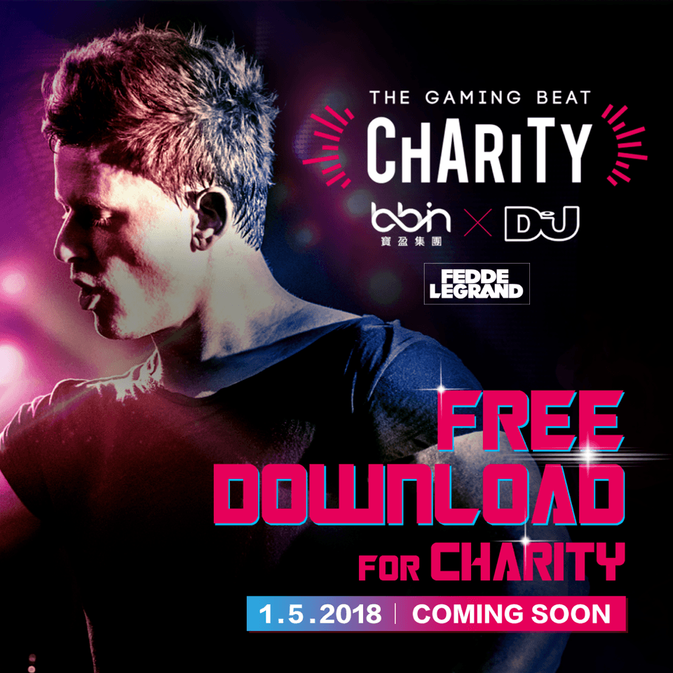 FEDDE LE GRAND TEAMS UP WITH DJ MAG AND BBIN TO LAUNCH 'THE GAMING BEAT' CHARITY CAMPAIGN