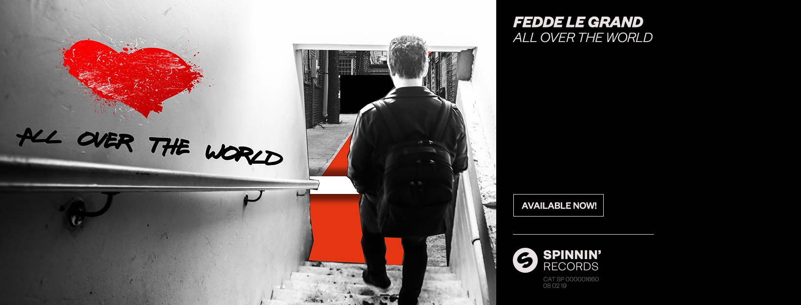 Fedde Le Grand - All Over The World [OUT NOW ON SPINNIN' RECORDS]