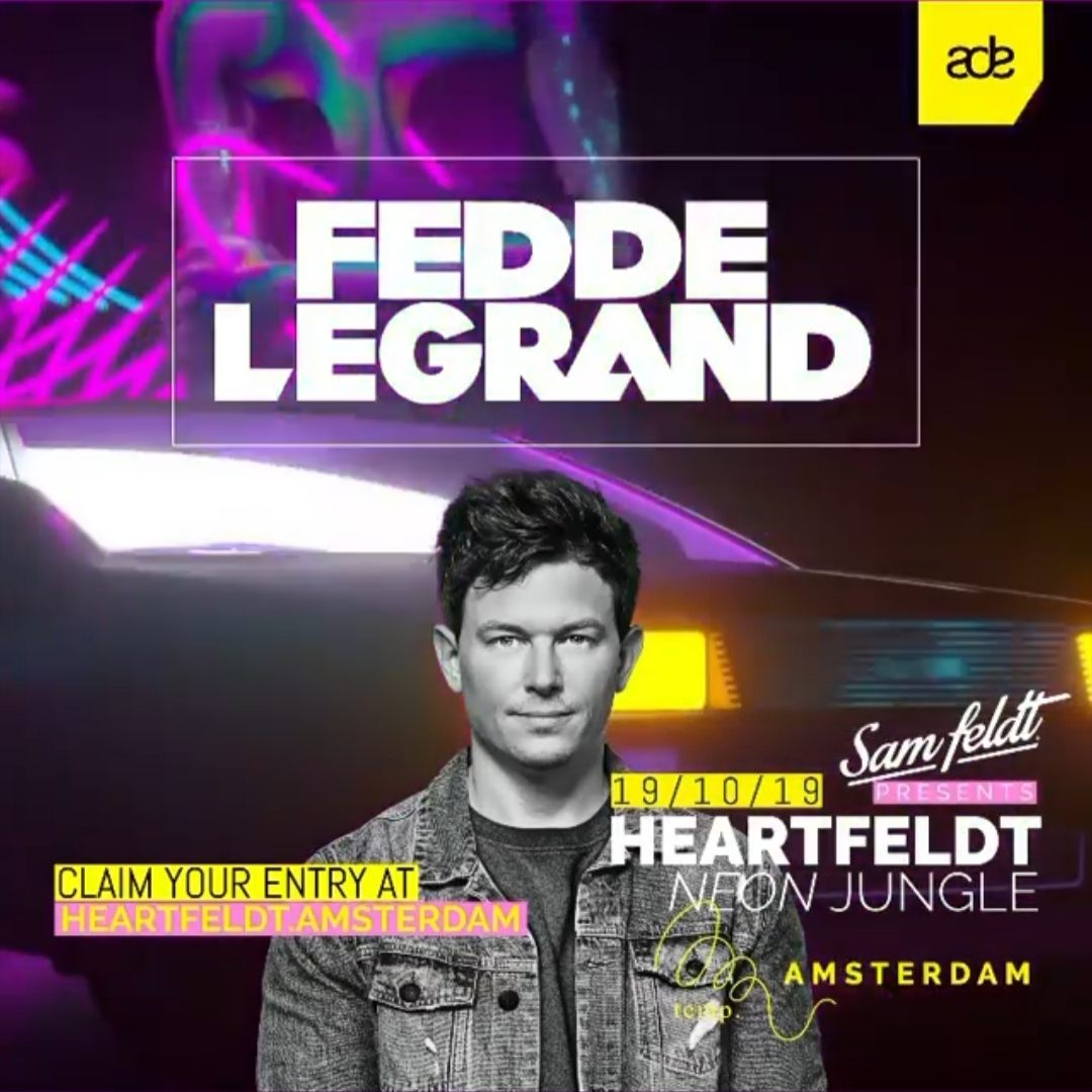 Sam Feldt Presents Heartfeldt Neon Jungle ADE